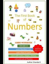 Learn Numbers: One to ten Workbook 1-10: Fun learning numbers up to 10 with activities like colouring, sketching, counting games and