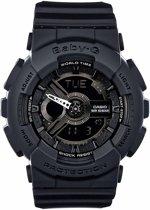 Casio Baby-G BA-110BC-1AER - Horloge - Kunststof - Zwart - 41 mm