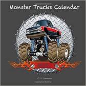 2018 Monster Trucks Calendar