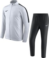 Nike Academy 18 Trainingspak Heren - Maat L - Wit/Zwart