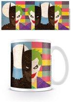 Batman - Face half half Mug