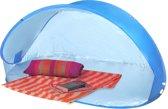 XXL Pop-Up Strandtent Beach Shelter - Windscherm Strand Scherm Tent - Zonnescherm Waterafstotend UV Bescherming - Strandscherm Beachshelter