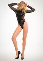 Sequins & Sheer Body