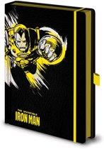 Marvel Retro Iron Man Mono A5 Premium Notitieboek
