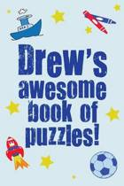 Drew's Awesome Book of Puzzles!