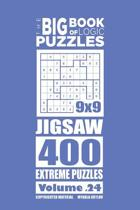 The Big Book of Logic Puzzles - Jigsaw 400 Extreme (Volume 24)