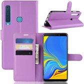 Samsung Galaxy A9 (2018) Hoesje - Book Case - Paars