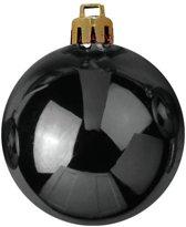 Europalms Kerstbal 7cm, black 6x