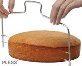 Professionele Taartsnijder Taartmes Cake Snijder- Icing en decoratie- Met Taart Cupcake - NU TIJDELIJK + Gratis Cake Schraper