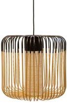 Forestier Bamboo Light Hanglamp Medium Zwart