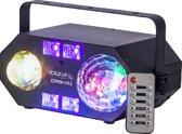 Ibiza Light - 4-IN-1 LICHT EFFECT MET ASTRO, WATERWAVE, UV & STROBE