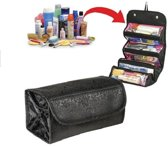 Uitrolbare Toilettas / Hangende Travel Make Up Organizer Euti Tasje - Reistas