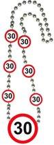 Ketting 30 Jaar Verkeersbord