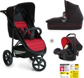 Hauck Rapid 3 Plus Trio Set - Kinderwagenset - Grijs/Tango