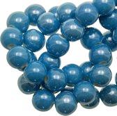 Keramiek Kralen (8 mm) Sky Blue (25 Stuks)