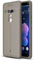 Just in Case HTC U12 Plus Back Cover Soft TPU Grijs