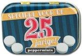 Paperdreams - Retro mints - 25 Jarige