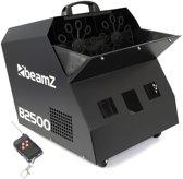 Bellenblaasmachine - Beamz B2500 professionele dubbele bellenblaasmachine met draadloze afstandsbediening