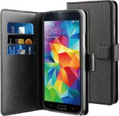 BeHello Wallet Case voor Samsung Galaxy S5/S5 Neo - Zwart