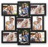 Collage fotolijst Santander Black