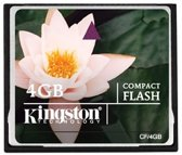 Kingston CompactFlash Card 4GB - geheugenkaart