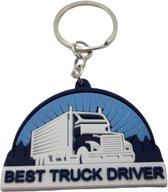 vrachtwagen sleutelhanger - Beste vrachtwagenchauffeur sleutelhanger - Best truck driver - chauffeur