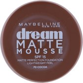 Maybelline Dream Matte Mousse - 70 Cocoa - Foundation foundationmake-up