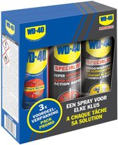 Wd-40 Multi-use / Kruipolie / Siliconenspray 3 In 1 Set 250 Ml