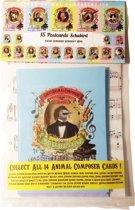 Franz Schubert Schubird Bird (Vogel) Animal Composer - Ansichtkaarten 12 stuks