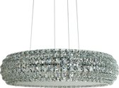 Hanglamp Crystal Queen 53 - Chroom