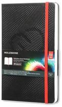 Moleskine Smart notitieboek zwart - Large - Hard cover