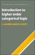 Introduction to Higher-order Categorical Logic