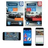 Auto Rijbewijs B Theorieboek - Theorieboek + Oefenboek + Smartphone Examens Android Apple 2018