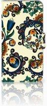 iPhone Xs Boekhoesje Design Barok Flower