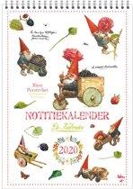 Maandnotitiekalender 2020 Rien Poortvliet A4 'Kabouter'