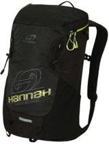 Hannah Outdoor rugzak Raven 28 Air-Vent - Zwart met Lime Groen