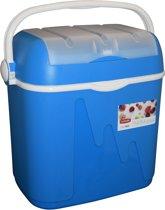Curver Koelbox - 39L (6L in Deksel) - Blauw/wit