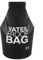 Drybag / Waterdichte zak - 2 Liter - Waterdichte Dry Bag Telefoon/Portemonnee - Survival & Outdoor Hoes voor aan rugzak - 2 L