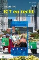 Boek cover Inleiding ICT en recht van S.L. Gellaerts (Paperback)