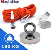 Medior Vismagneet Set - 140 KG Trekkracht - Magnee