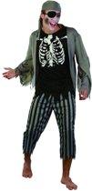 Piraten zombie kostuum voor mannen Halloween - Verkleedkleding - One size