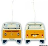 VW-bus T2 Luchtverfrisser Oranje-Vanilla