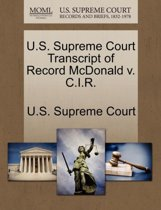 U.S. Supreme Court Transcript of Record McDonald V. C.I.R.