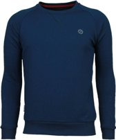 Local Fanatic Exclusief Basic - Sweater - Petrol Navy - Maten: S