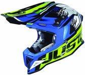 Just1 Crosshelm J12 Dominator Neon Yellow/Blue-M