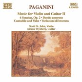 Paganini: Music for Violin and Guitar 2 / St. John, Wynberg