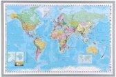 NAGA  Beprikbare wereldkaart 60x90cm