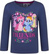 My Little Pony shirt navy lange mouwen 98 (3 jaar) - voor meisjes
