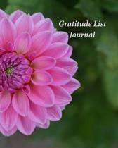 Gratitude List Journal: My Journal of Gratitude