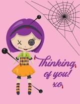 Thinking of You Composition Notebook